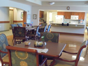 Kitchen & Dining area at Bluff Haven